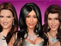 Kardashian Sisters Make-Up